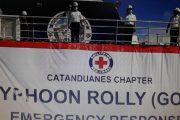 M/V Amazing Grace ng Philippine Red Cross, naglayag patungong Catanduanes