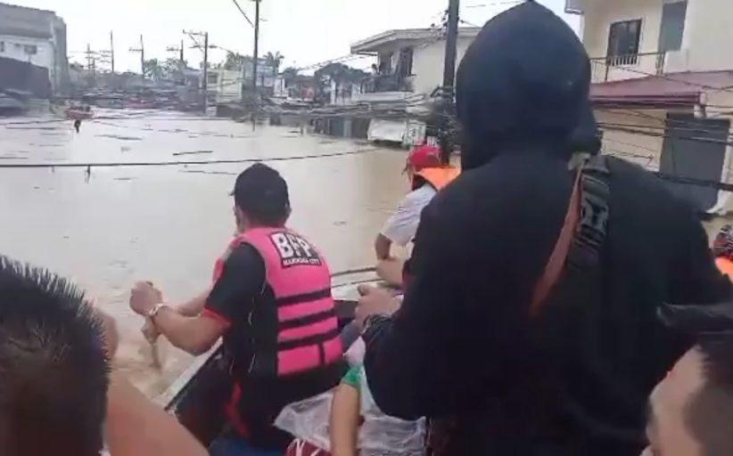 Water level sa Marikina river, unti-unti nang bumababa