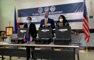 US Government nagdonate ng 3.6 milyong pisong  halaga ng anti-drugs equipment sa BOC