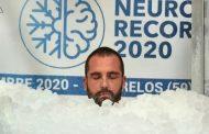 French 'Ice man,' nagtakda ng bagong world record sa freezing glass cabin
