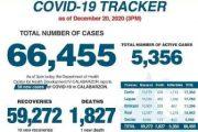 58 bagong kaso ng Covid-19, naitala sa CALABARZON