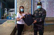 Bag na napulot ng isang pulis sa Pangasinan, naibalik sa may-ari