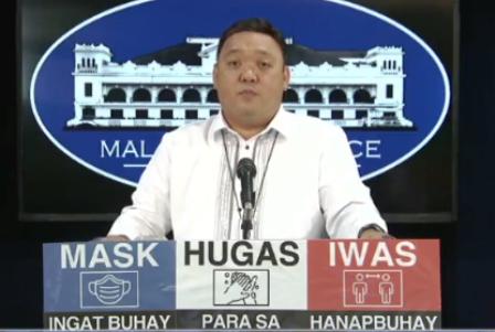 Pangulong Duterte hindi ipapakita sa publiko kung magpapabakuna laban sa COVID- 19 ayon sa Malakanyang