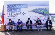 Cagayan River Restoration Project, pormal nang inilunsad