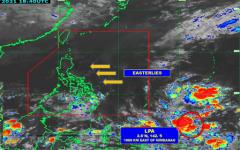 Mga pag-ulan, asahan sa Silangang bahagi ng Mindanao dahil sa trough ng LPA
