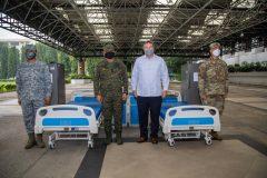 US military nagbigay ng ICU beds at COVID-19 vaccine storage units sa AFP