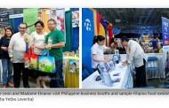 Pista sa America, Ipinakita ang Kultura at Produktong Pinoy