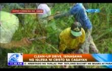 CleanUp Drive, isinagawa ng Iglesia Ni Cristo sa Cagayan