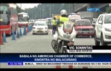 Babala ng American Chamber of Commerce, Kinontra ng Malacañang