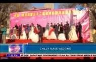 Kasalan sa China, Natuloy pa rin sa Kabila ng Malamig na Klima