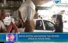 Pagmumulta sa mga abusadong taxi driver, aprubado ng House Committee on Transportation