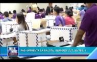 Pag-imprenta ng mga balota, ipinagpaliban ng COMELEC