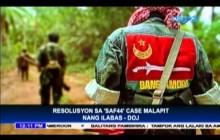 Resolusyon sa SAF 44 case malapit nang ilabas ng DOJ