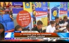 1st Housing Fair 2016 isinagawa sa Biñan, Laguna
