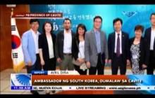 Ambassador ng South Korea, dumalaw sa Cavite