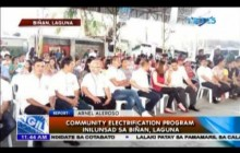 Community Electrification Program inilunsad sa Biñan, Laguna