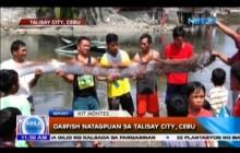 Oarfish natagpuan sa Talisay City, Cebu