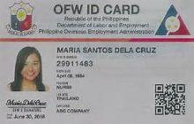 Pamamahagi ng mga i-dole id card sa mga OFW, hindi pa maipapatupad ng DOLE