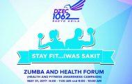 Radyo Agila Zumba and Health Forum