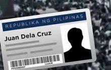 Panukalang National ID system pasado na sa 2nd reading sa Kamara