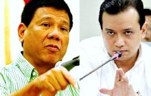 Sen. Antonio Trillanes hinamon ng Malakanyang na patunayan ang akusasyong miyembro ng drug triad si Vice Mayor Paolo Duterte