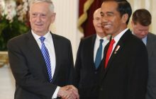 US Defense Secretary Jim Mattis, nakipagkita kay Indonesian President Joko Widodo