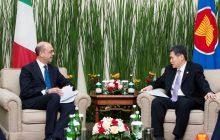 Ugnayang pang-ekonomiya sa Asean organization, balak palakasin ng Italya