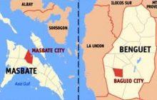 Masbate at Baguio City, nilindol