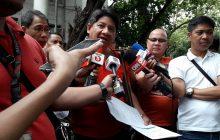 Ilang staff ni Chief Justice Maria Lourdes Sereno, kinasuhan ng katiwalian at paglabag sa Procurement Law sa DOJ