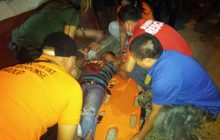 2 Katao sugatan sa pagsalpok ng sinasakyang motorsiklo sa Quezon City
