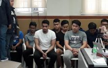 10 sumukong Aegis Juris fraternity members, iniharap ng NBI sa media