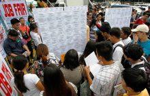 Bilang ng mga walang trabaho sa bansa, bumaba sa unang buwan ng 2018