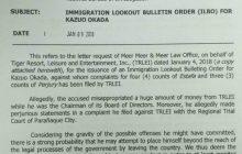 Japanese gaming tycoon Kazuo Okada, inilagay na sa Immigration lookout bulletin order