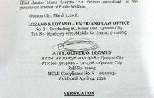 Appointment ni Chief Justice Sereno, ipinapawalang-bisa sa Korte Suprema