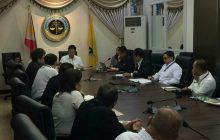 Bagong Justice Secretary Menardo Guevarra pinulong ang mga opisyal ng DOJ