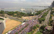 Maayos na koordinasyon sa seguridad ng INC Worldwide Walk event organizers, hinangaan ng MPD