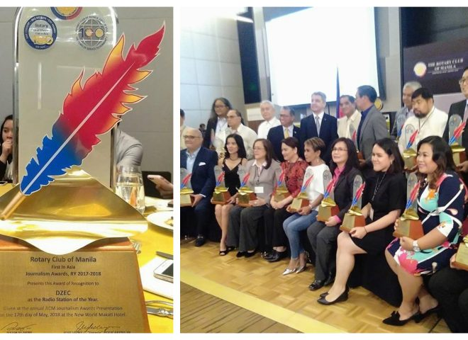 DZEC Radyo Agila, tinanghal bilang Radio Station of the year ng RCM Journalism Awards