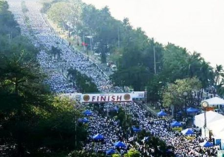 Guinness World record for Largest Charity Walk on a single Venue, nasungkit muli ng INC