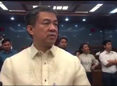 Mga kapwa Senador at mga tagasuporta pinasalamatan ni Senador Koko Pimentel