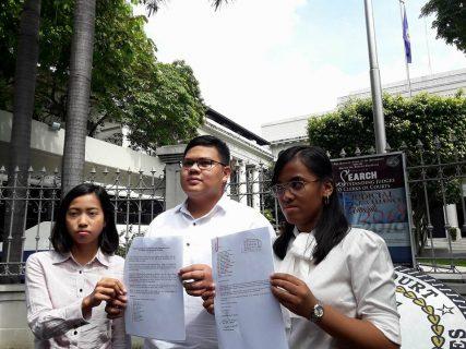 Law students mula sa Bicol, umapila sa PET na ipatupad ang 25% threshold sa Manual recount ng mga boto sa 2016 Vice-Presidential race
