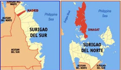 Surigao del Norte at Surigao del Sur niyanig ng lindol