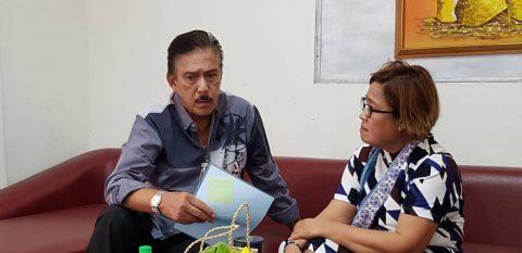 Senate President Tito Sotto bumisita kay Senador Leila de Lima