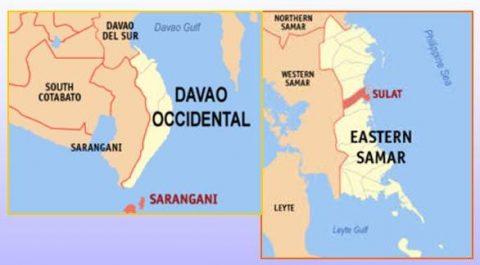 Davao Occidental at Eastern Samar, niyanig ng lindol