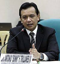 Senador Trillanes, nagbanta na kakasuhan ang magkakapatid na Tulfo