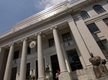 Pasok sa Supreme Court at sa iba pang korte sa NCR suspendido simula alas-dose ng tanghali