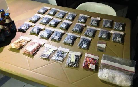 Mahigit 7 milyong halaga ng mga party drugs at shabu, nasabat sa Drug buy-bust operation sa Quezon City