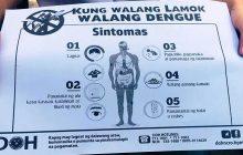 DOH, mas pinalakas pa ang kampanya laban sa Dengue at Leptospirosis