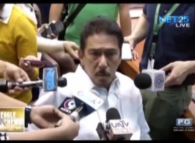 Senate President Vicente Sotto, desididong isulong ang Train 2