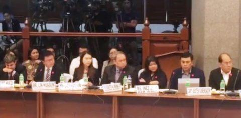 Recording ng pakikipag-usap ng piloto ng Xiamen Air sa NAIA control tower, inilabas sa Senado