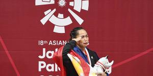 Unang ginto ng Pilipinas sa 2018 Asian Games, nasungkit ni Hidilyn Diaz